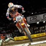 Cairoli quinto a Bercy Supercross