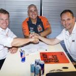KTM e De Carli prolungano l'accordo fino al 2022