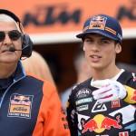 Prado prolunga il suo contratto con KTM Red Bull