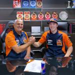 Mattia Guadagnini con KTM al Mondiale MX2